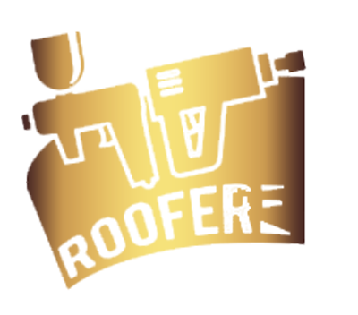 roofer with two tools icon